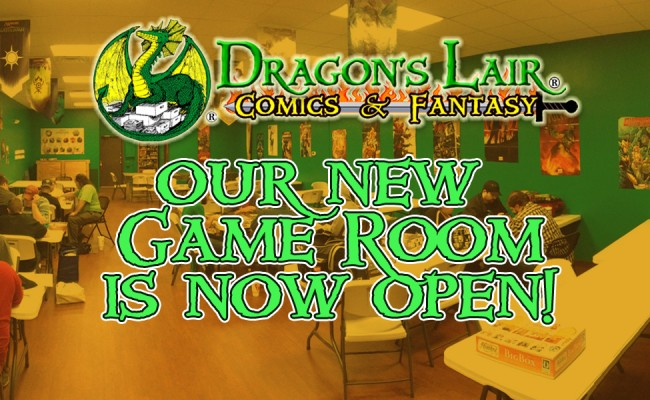 Our New Gaming Room is Now Open!