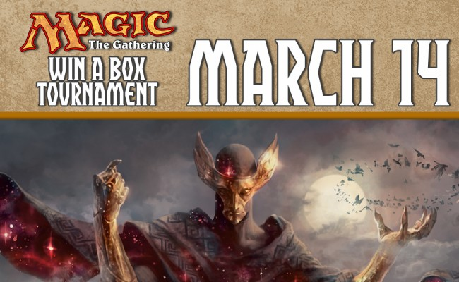 Magic the Gathering Win a Box Legacy Event! March 14th!