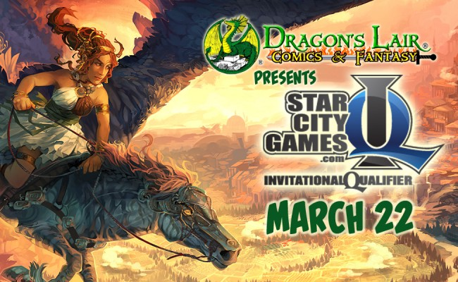 Magic the Gathering Invitational Qualifier on March 22nd!