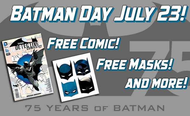 Batman Day is July 23rd!