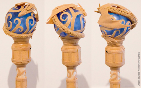 sculpt of scrap worbla