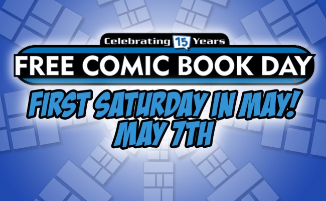 Free Comic Book Day! May 7th!