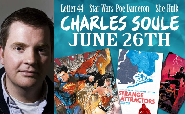 Author Charles Soule Signing June 26th!
