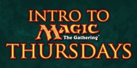 Magic Intro every Thursday Night at 7 PM!