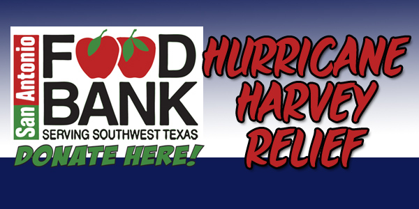 Hurricane Harvey Relief! Taking Donations Here!