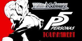 Come play in our Weiss Schwarz Persona 5 Tournament on Feb. 25th! Starts at 1:30 PM, entry fee $6, here at Dragon's Lair San Antonio Medical Center!