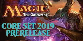 Come to Dragon's Lair San Antonio in the Medical Center to play in our Magic Core Set 2019  Prerelease Events! It all happens on July 7th and 8th!
