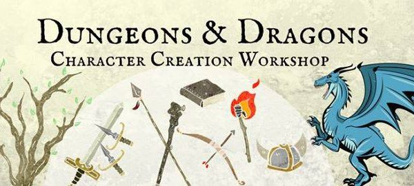D&D Character Creation Workshop