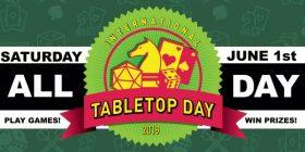 International Tabletop Day logo banner