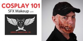 Cosplay 101 SFX Makeup Workshop by Hawgfly
