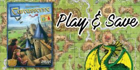 Play & Save - Carcassonne