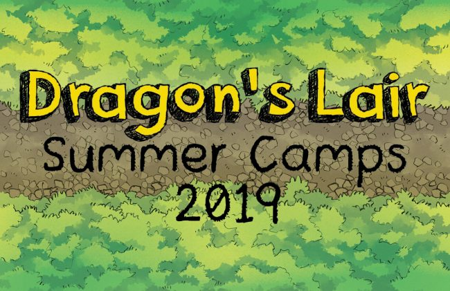 Dragon's Lair Summer Camps 2019 - Image used with permission from 2MinuteTabletop.com.