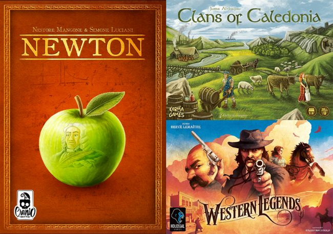 Newton, Clans of Caledonia, Western Legends