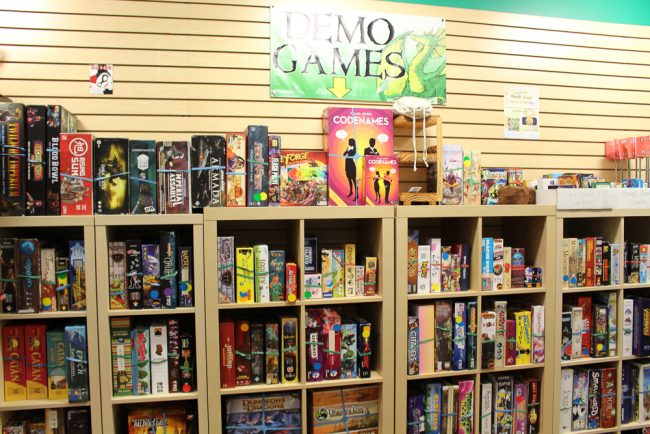 Demo Game Library