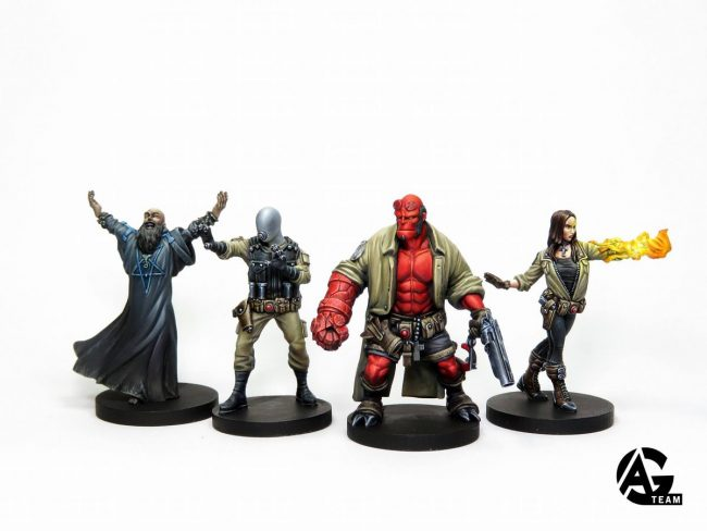 Hellboy miniatures