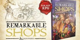 Remarkable Shops & Their Wares RPG