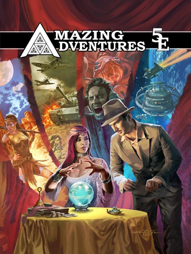 Amazing Adventures 5E RPG