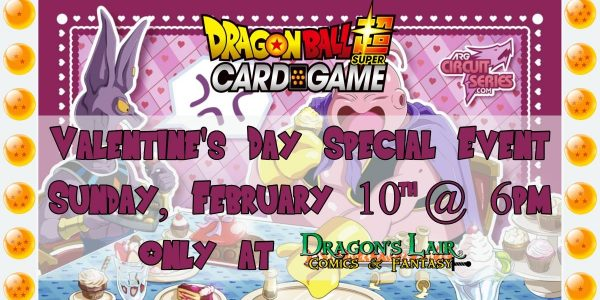 DragonBall super Valentine's Day event